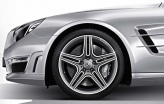 Mercedes alloy wheels AMG 5 Twin Spoke image