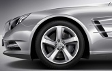 Mercedes alloy wheels Mercedes 5 Spoke image