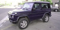 G Class G461 Cross Country Vehicle with 16