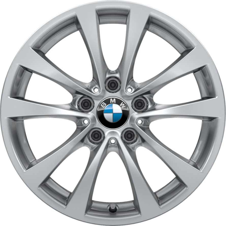 17 Quot Bmw 395 Wheels In Silver Alloy Wheels Direct 3613148