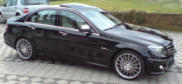 19 Quot Amg V 16 Spoke Wheels In High Sheen With Middle