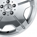 Mercedes Forged & High Sheen Polished alloy wheel finish type