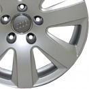 Audi Diamond Silver alloy wheel finish type