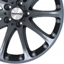 Hartge Anthracite alloy wheel finish type