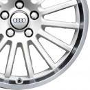 Audi Ibis White alloy wheel finish type