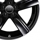 Audi Glossy Black alloy wheel finish type