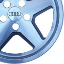 Audi Grey Pearl alloy wheel finish type