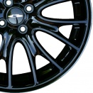 MINI Polished Black alloy wheel finish type
