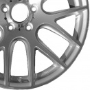 BMW Polished Silver alloy wheel finish type