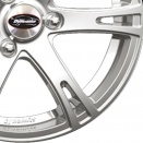 Team Dynamics Power Silver alloy wheel finish type