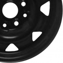Audi Rally Black alloy wheel finish type