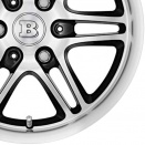 Brabus Black | Polished Surface alloy wheel finish type