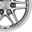 Brabus Black Chrome | Polished Surface alloy wheel finish type