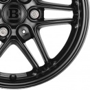 Brabus Black alloy wheel finish type
