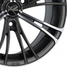OZ Racing Matt Gun Metal Full Polished