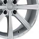 OZ Racing Metal Silver - Diamond Cut alloy wheel finish type
