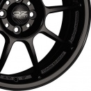 OZ Racing Matt Black alloy wheel finish type