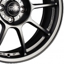 OZ Racing Matt Graphite Silver alloy wheel finish type
