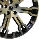 Hawke BKF Java Black Full Polish alloy wheel finish type