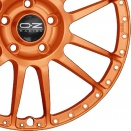 OZ Racing Orange alloy wheel finish type