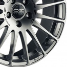 OZ Racing Matt Race Silver - Black Lettering alloy wheel finish type