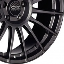 OZ Racing Matt Graphite - Silver Lettering alloy wheel finish type