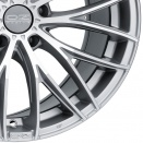 OZ Racing Matt Race Silver - Diamond Cut alloy wheel finish type