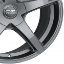 OZ Racing Matt Dark Graphite alloy wheel finish type