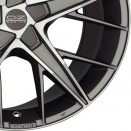 OZ Racing Grigio Corsa - Diamond Cut alloy wheel finish type