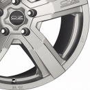 OZ Racing Matt Race Silver alloy wheel finish type