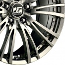 OZ Racing Full Silver Polished alloy wheel finish type