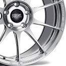 OZ Racing Ceramic Polished alloy wheel finish type