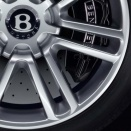 Bentley Graphite Painted alloy wheel finish type