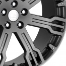 Hawke GML Gun Metal Sculpted Edge alloy wheel finish type