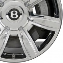 Bentley Chromed alloy wheel finish type