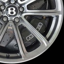 Bentley Dark Tint alloy wheel finish type