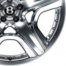 Bentley Polished alloy wheel finish type