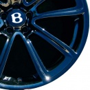 Bentley Smoked Steel alloy wheel finish type