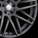 Brabus Forged | Titanium Gunmetal alloy wheel finish type