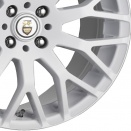 Cades Polar White alloy wheel finish type
