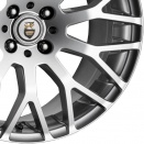 Cades Niagara Silver alloy wheel finish type