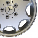 Mercedes Standard Silver alloy wheel finish type