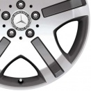 Mercedes High Sheen with Anthracite alloy wheel finish type