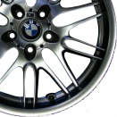 BMW Chrome Shadow alloy wheel finish type