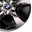 BMW Midnight Chrome alloy wheel finish type