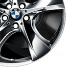 BMW Summer Chrome alloy wheel finish type