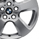 BMW Forged alloy wheel finish type