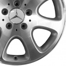 Mercedes High Sheen with Standard Silver alloy wheel finish type