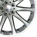Hartge Silver alloy wheel finish type