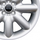 MINI Silver alloy wheel finish type